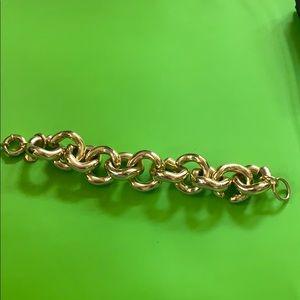 JCrew factory gold chunky bracelet
